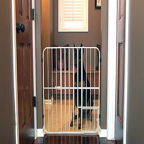Carlson Pet Products Extra Tall Tuffy Pet Gate, Metal