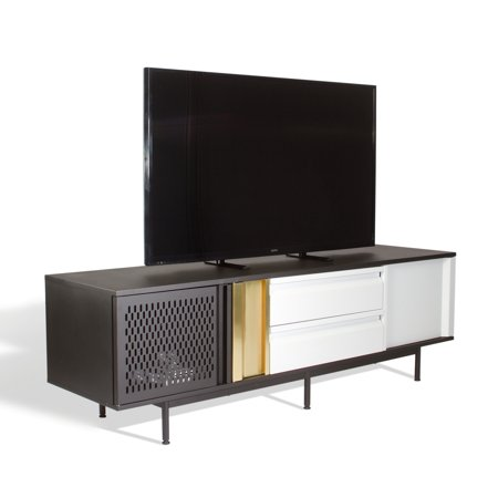 Metal Metallic Credenza (Sauder Boutique Entertainment Credenza for TVs up to 65