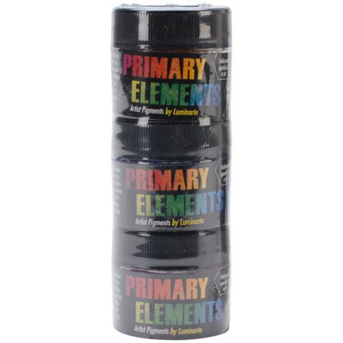 Primary Elements Artist Pigments 10ml 3/Pkg-Beach Glass