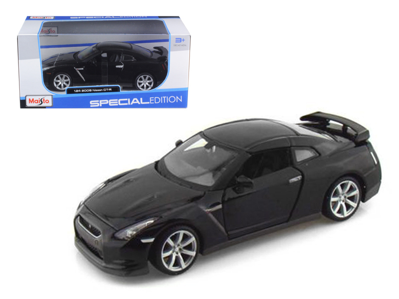 2009 Nissan GT-R R35 Black 1 24 Diecast Model Car by Maisto by Grating Fasteners