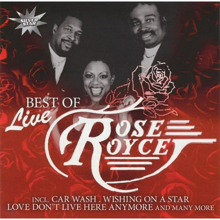 Best of Rose Royce live (CD) (Best Type Of Rose)