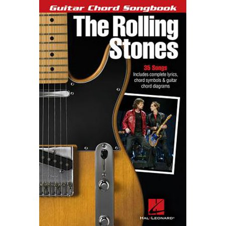 Guitar Chord Songbook Book - The Rolling Stones - Guitar Chord Songbook (Paperback)