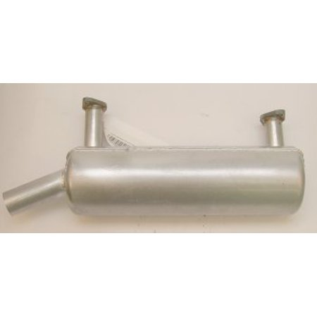 Left muffler for 21-23hp Hor Briggs Vanguard Engine 380400 386400 MUF0460