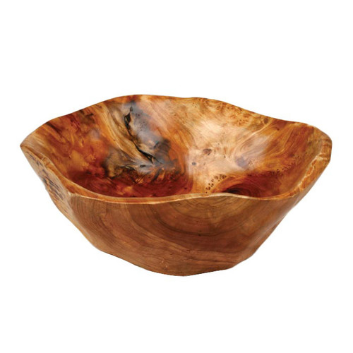 Enrico Rootworks Flat Cut Serving Bowl