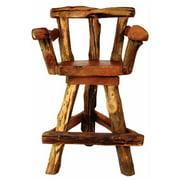 Groovystuff TF-0794 Sawtooth Swivel Bar Chair