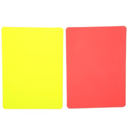 FAGINEY Football Red And Yellow Card, Referee Red And Yellow Card, Football Red And Yellow Cards Record Soccer Games Referee Tool (Most Red Cards In A Football Game)
