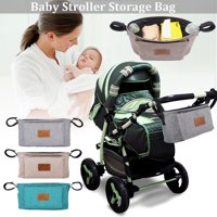 Baby Stroller Organizer Bag Car Basket Hanging Storage Bag For Pram Mummy Bag Buggy Organizer Animals Desi Stroller Accessories Bottle Diaper Holder