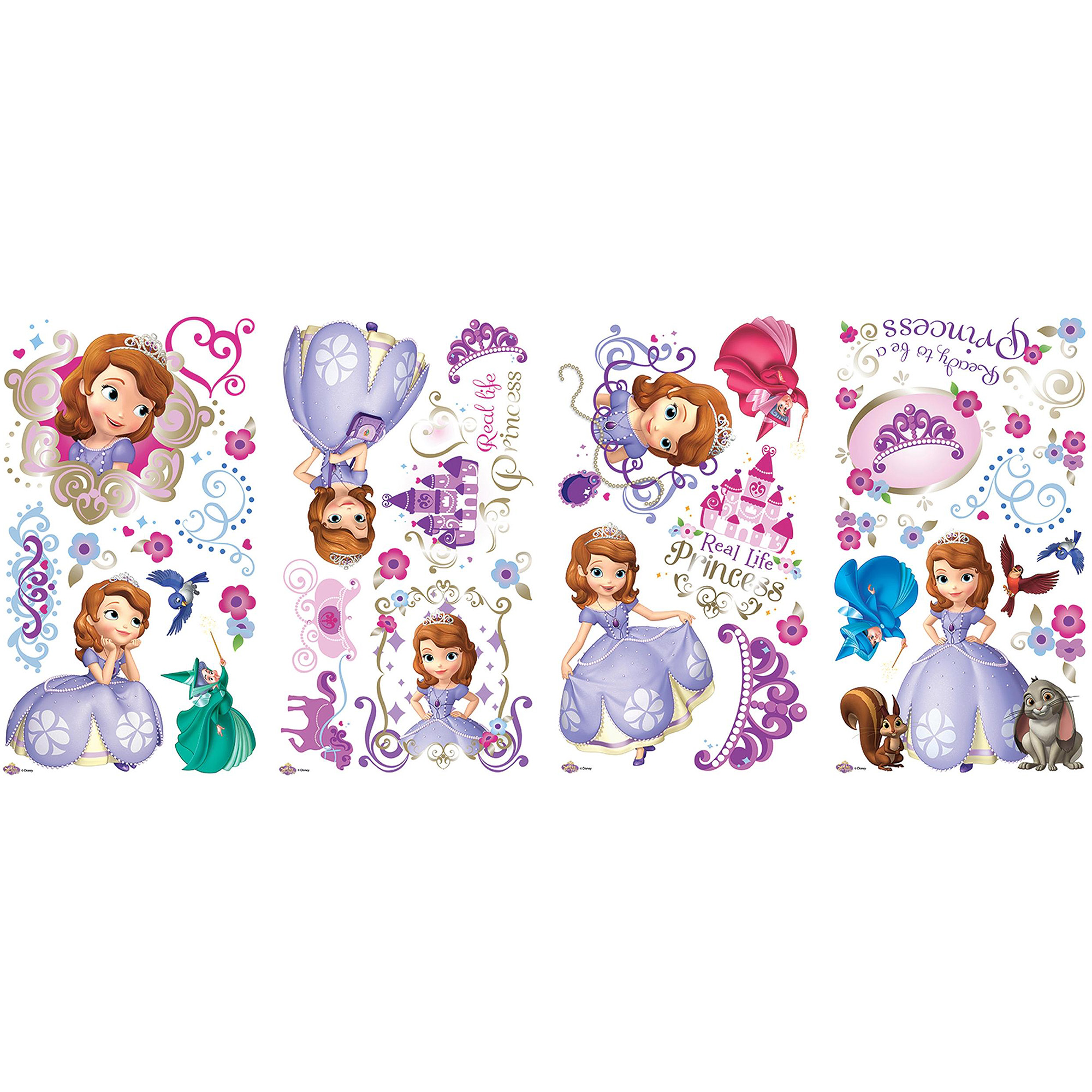 Sofia the First Peel-and-Stick Wall Decals