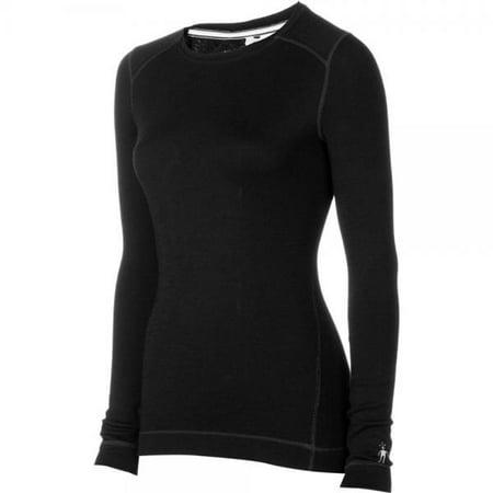 Smartwool Women's NTS Mid 250 Crew Top Black T-Shirt LG