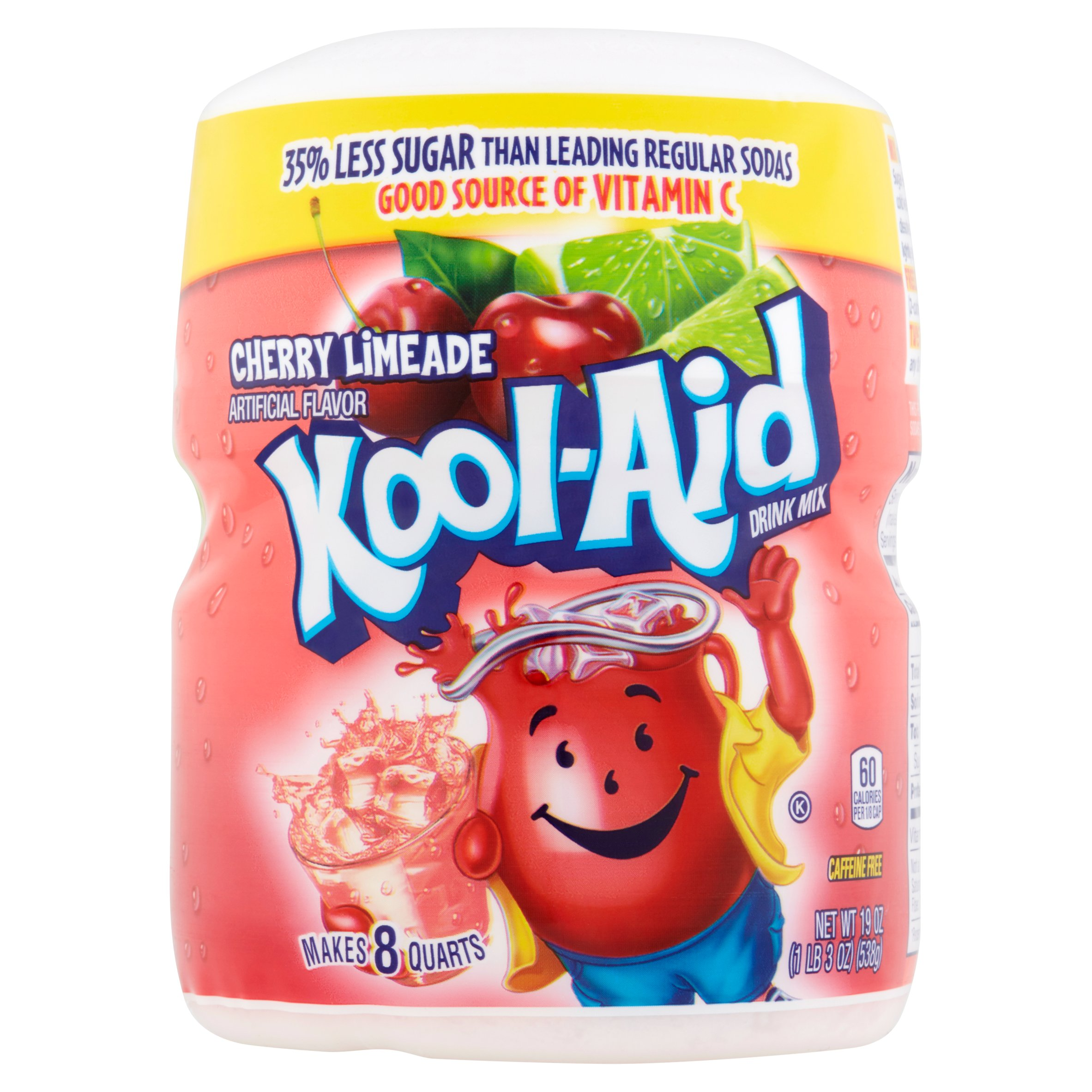 Kool-Aid Cherry Limeade Soft Drink Mix, 19 oz