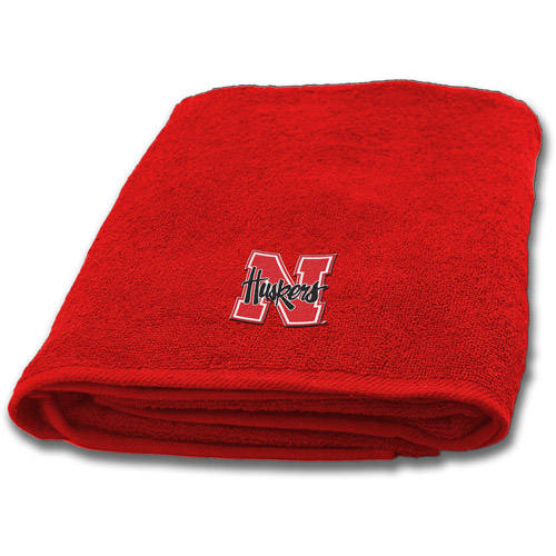NCAA University of Nebraska Decorative Bath Collection - Bath Towel
