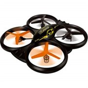 Microgear EC10385-Black 22 in. Big Cyclone UFO Drones 4 Chan 6 Axis Camera Gyro