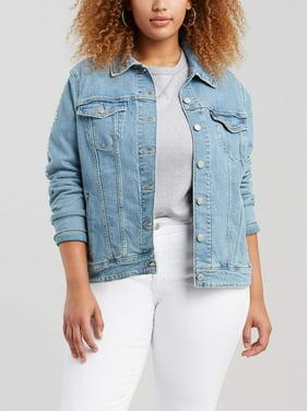 487e289594967 Product Image Levi s Women s Plus Original Trucker Denim Jacket