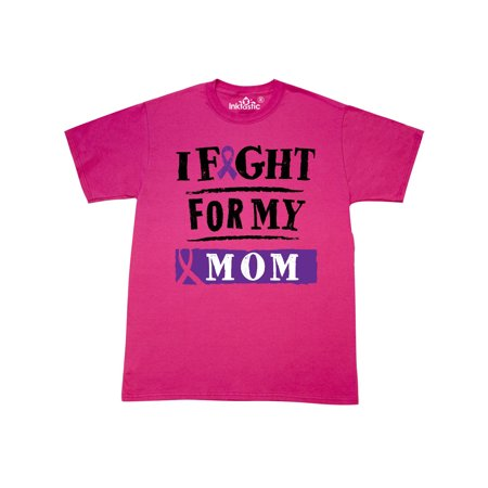 423 Heather (Fight For My Mom Purple Awareness T-Shirt )