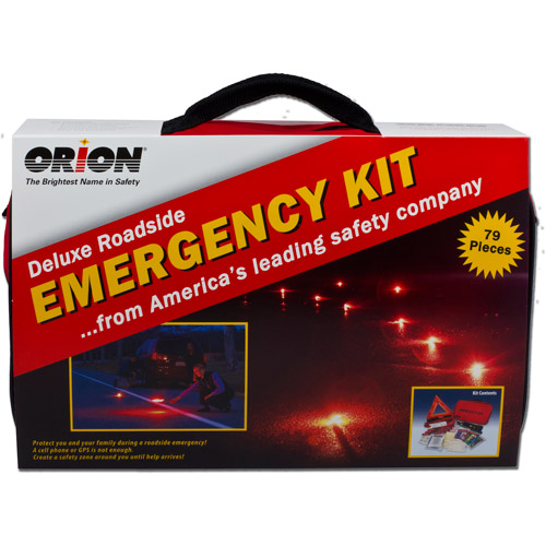 Orion Safety Products Deluxe Roadside Emergency Kit