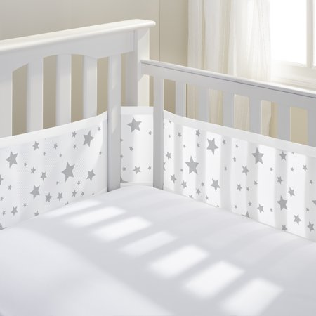 Breathablebaby 174 Classic Breathable 174 Mesh Crib Liner Star