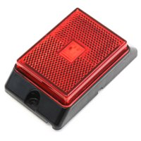 1 Red LED Side Marker Light 4 Inches Truck Trailer Pickup Boat Bright
