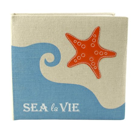 Fetco Home Decor Starfish Sea La Vie Book Album Walmartcom