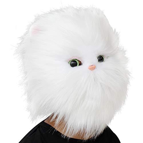 CreepyParty Deluxe Novelty Halloween Costume Party Latex Animal Head Mask