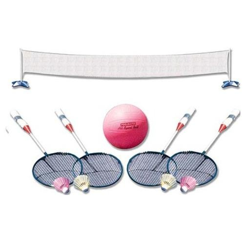 Poolmaster 72785 Volleyball Badminton Combo by Poolmaster