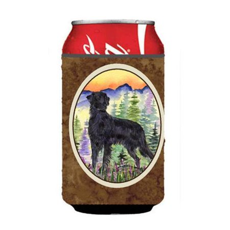 Flat Coated Retriever Ultra Beverage Insulators for slim cans SS8263MUK