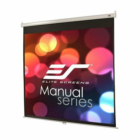 Like New ELITE SCREENS M85UWS1 Elite M85UWS1 Screens Manual Pull Down Projection
