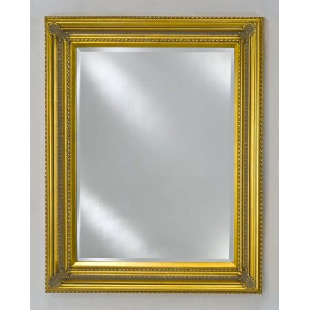 Estate decorative wall mirror small for Small white framed mirrors