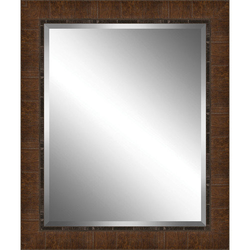 Ashton Wall D cor LLC Wood Paneled Effect Framed Plate Glass Mirror