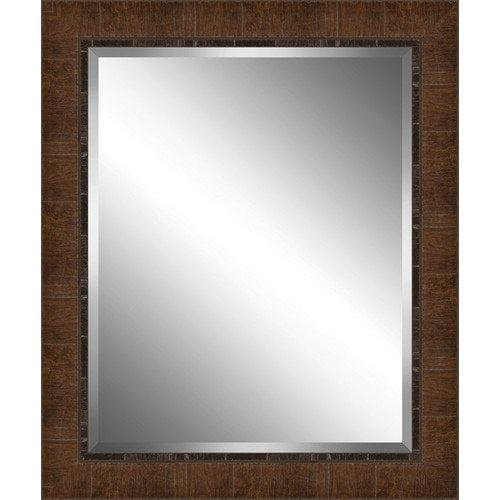 Ashton Wall D cor LLC Wood Paneled Effect Framed Plate Glass Mirror