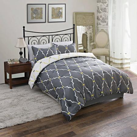 trellis reversible bedding comforter set