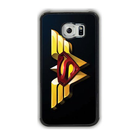 Superman Wonder Woman Galaxy S7 Edge Case (Superman And Wonder Woman New 52 Relationship)