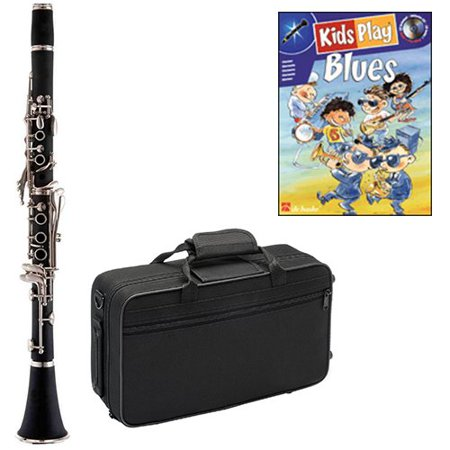 Kids Play Blues Clarinet Pack - Includes Clarinet w/Case & Accessories & Kids Play Blues Play Along Book