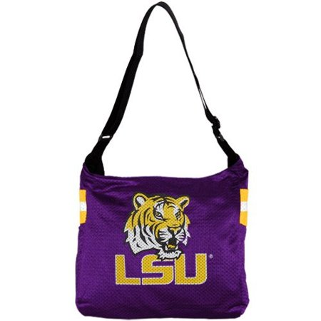 Veteran Jersey Tote (NCAA LSU Tigers Ladies Purple Veteran Jersey Tote)