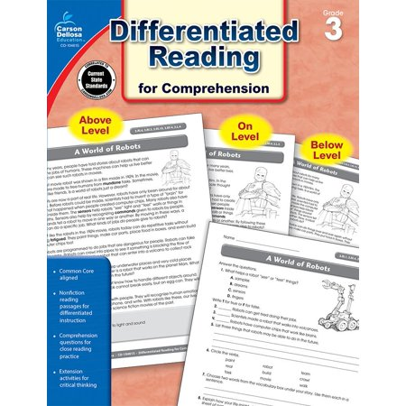 Common Core Differentiated Reading for Comprehension, Grade 3