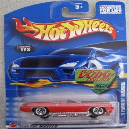 1967 Plymouth Barracuda Convertible (Hot Wheels 2002 '70 Plymouth Barracuda Convertible; Collector Car #173 )