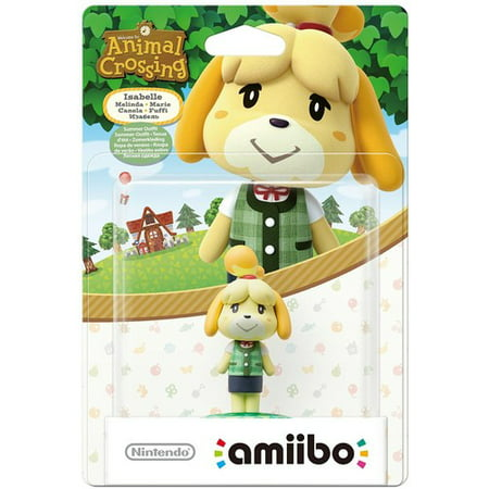 Amiibo: Animal Crossing Series - Isabelle Summer Outfit for Nintendo Wii U