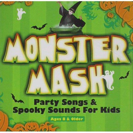 Monster Mash Party Songs & Spooky Sounds for kids](Halloween Playlist Monster Mash)