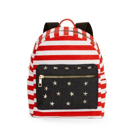 Vintage Mini Bag (Twig & Arrow Stripes & Stars Mini Dome Bag)