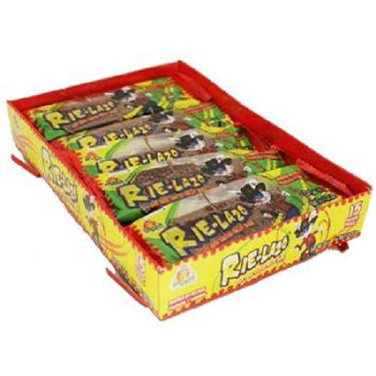 Product Of El Azteca, Rie-Lazo Hot & Salted Fruit Bar, Count 15 - Sugar Candy / Grab Varieties & Flavors