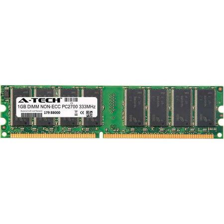 1GB Module PC2700 333MHz NON-ECC DDR DIMM Desktop 184-pin Memory Ram Ddr Pc 2700 333mhz Standard