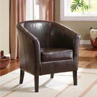Linon Home Simon Club Chair, Multiple Colors