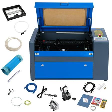 50w CO2 USB Laser Engraving Cutting Machine Engraver Cutter 500mm x 300mm