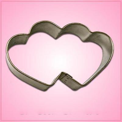 Double Heart Cookie Cutter Double Heart Wedding Cake Top