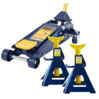 HW93652JS 3 Ton Jack & Jack Stand - Pair Combination