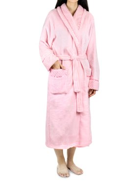 ... Big Deal Hunter. Free shipping. Product Image Deluxe Women Fleece Robe  with Satin Trim  8f203a4b2