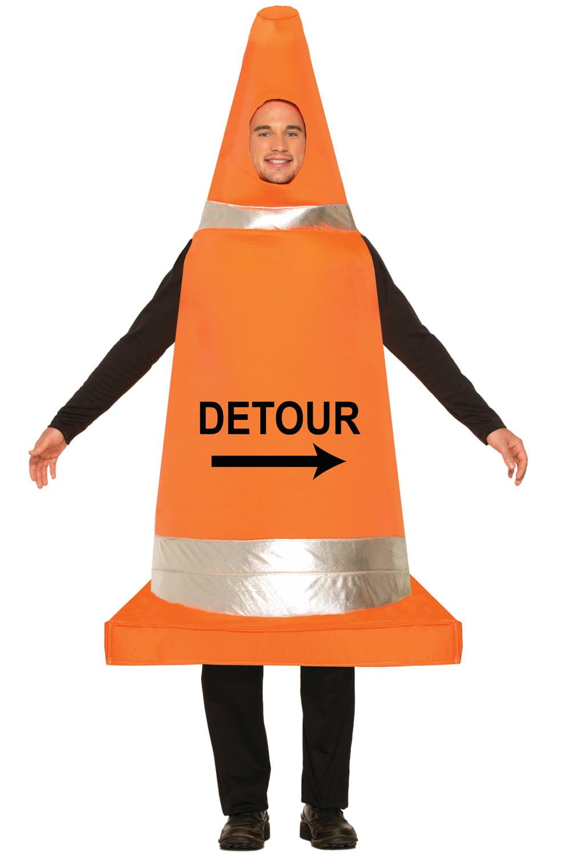 traffic cone adult costume walmartcom