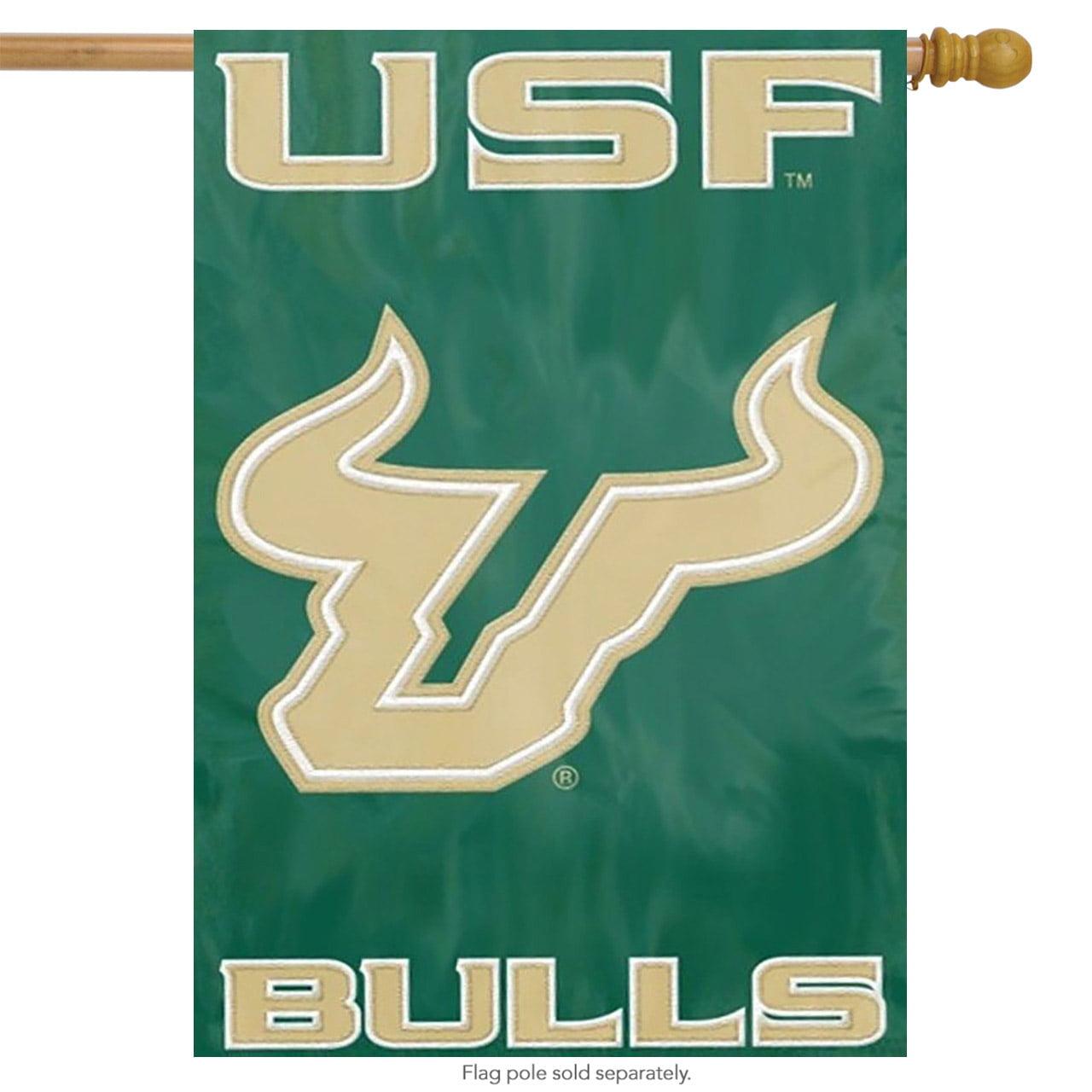 South Florida Applique & Embroidered Banner Flag NCAA