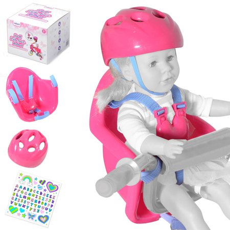 Doll Bike Seat and Helmet for 18