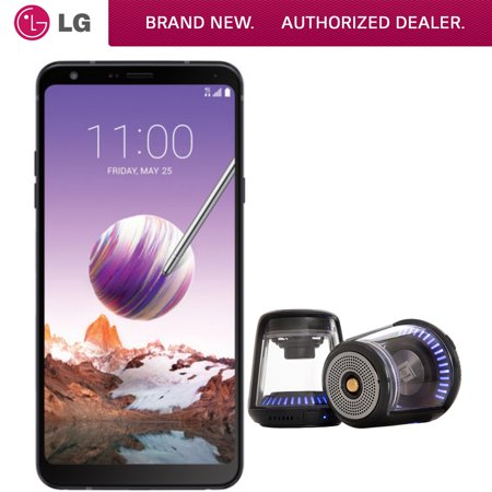 LG Stylo 4 32GB Smartphone Unlocked (LMQ710ULM.AUSABK) BONUS Deco Gear True Wireless