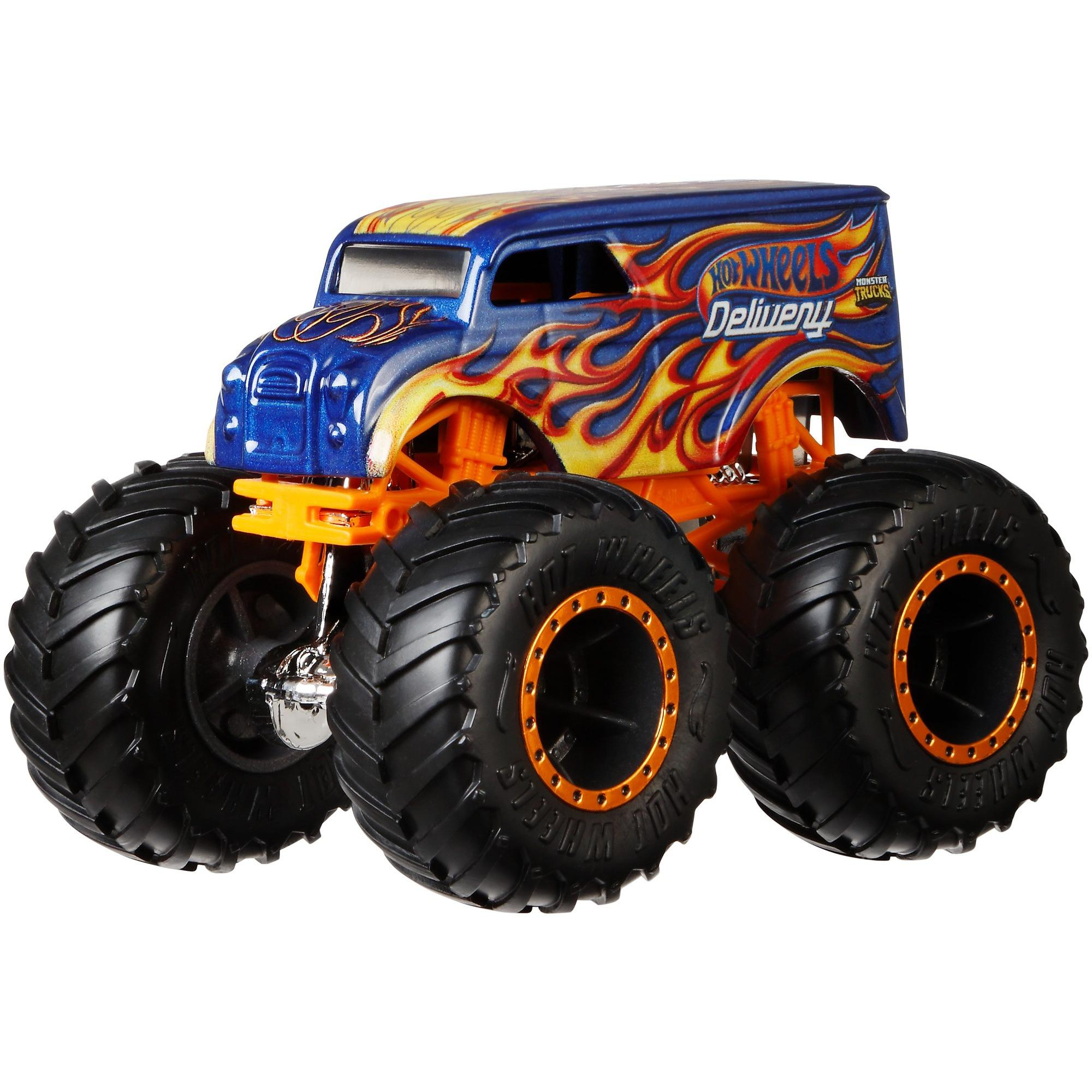 Hot Wheels Monster Trucks 1:64 Scale Die-Cast Vehicle (Styles May Vary) by Mattel